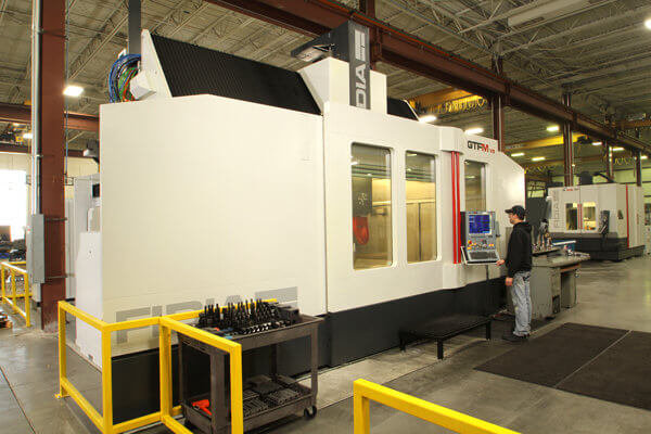 5-axis CNC machining equipment at Mantz Automation